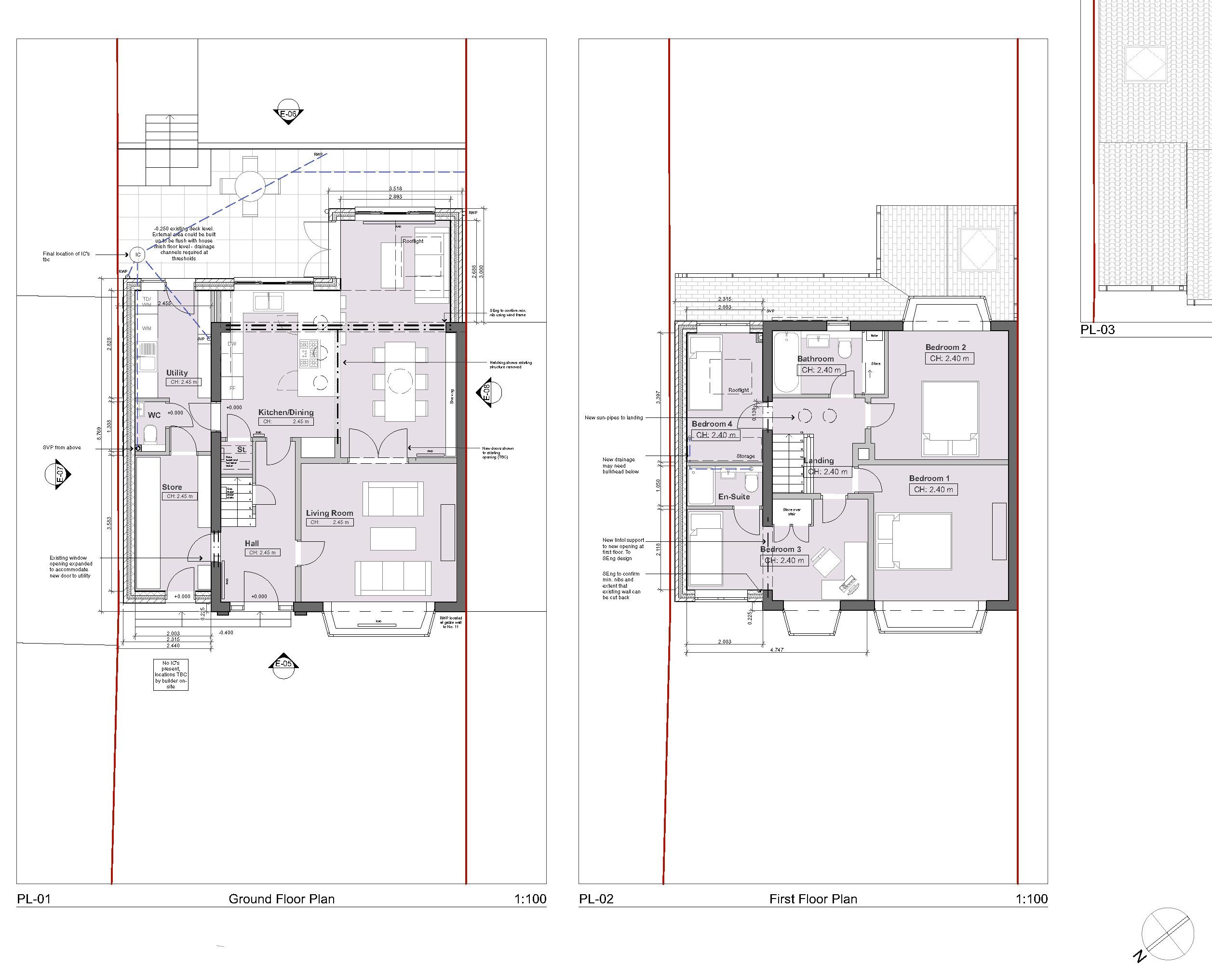 JCA-1110-012 Proposed Floor Plans_P02