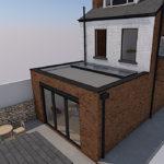 2_S8 Single storey extension sheffield architect