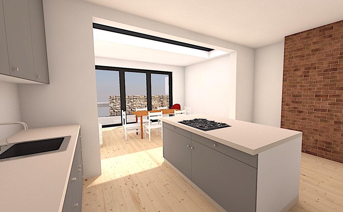 5_S8 Single storey extension sheffield architect