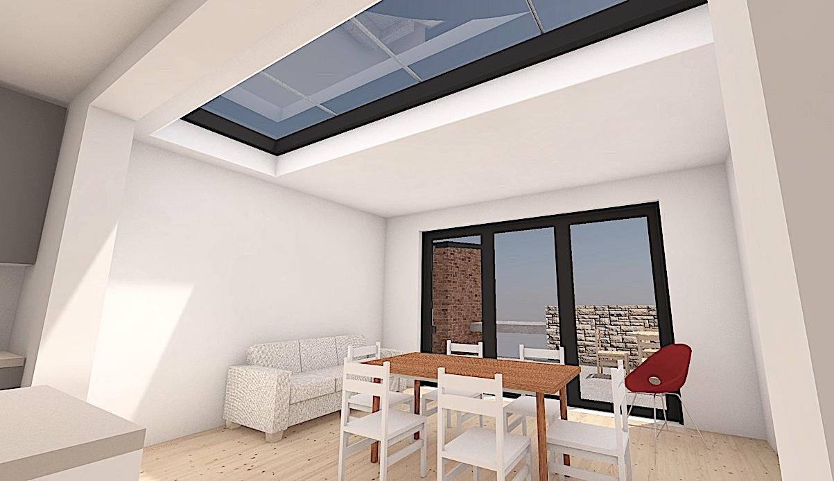 6_S8 Single storey extension sheffield architect
