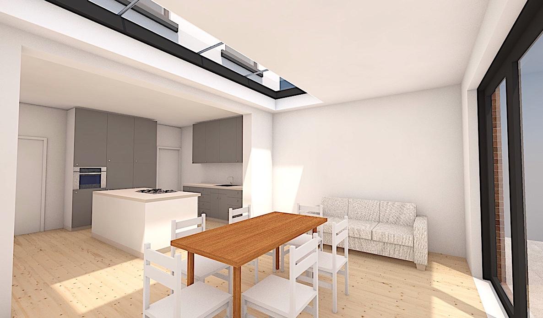 7_S8 Single storey extension sheffield architect