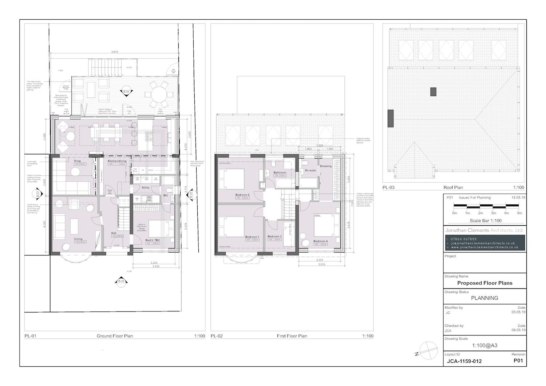 JCA-1159-012 Proposed Floor Plans